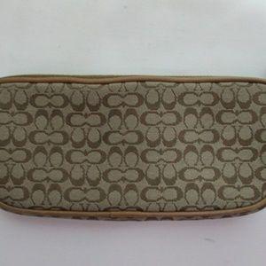 COACH Vintage Eye Glass Case Wallet Pouch